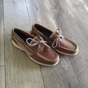 Sperry top-sider   like new boat shoes size 8